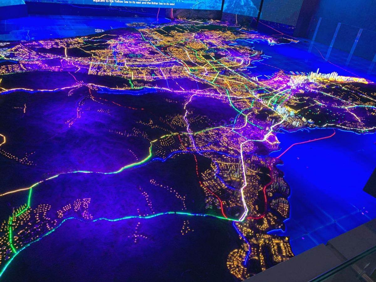 城市规划展示中心成大连新景观