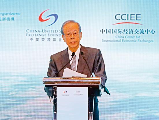 福田康夫倡中國參與制定全球規則