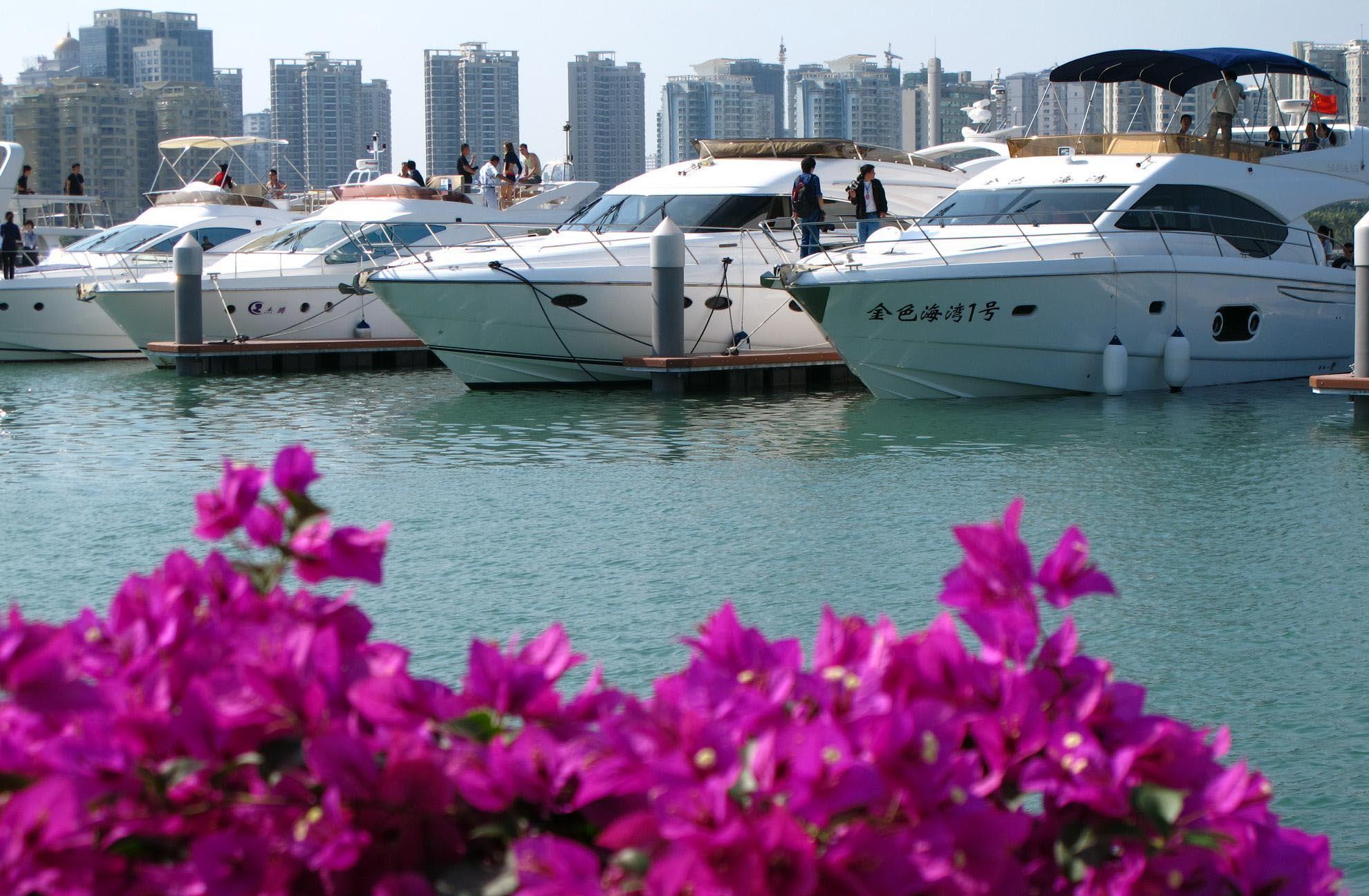 海南對境外遊艇開放8個水域 期限半年
