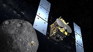 """日本探测器""""隼鸟2号""""着陆!将采集小行星地下物质"""
