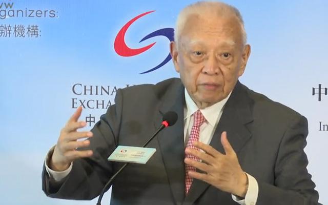 董建华:对中美贸易发展感乐观