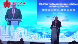 美國傳統基金會創辦人:期待中美重啟貿易談判