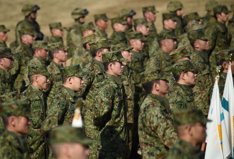?美谋日自卫队登半岛 韩跳脚反对