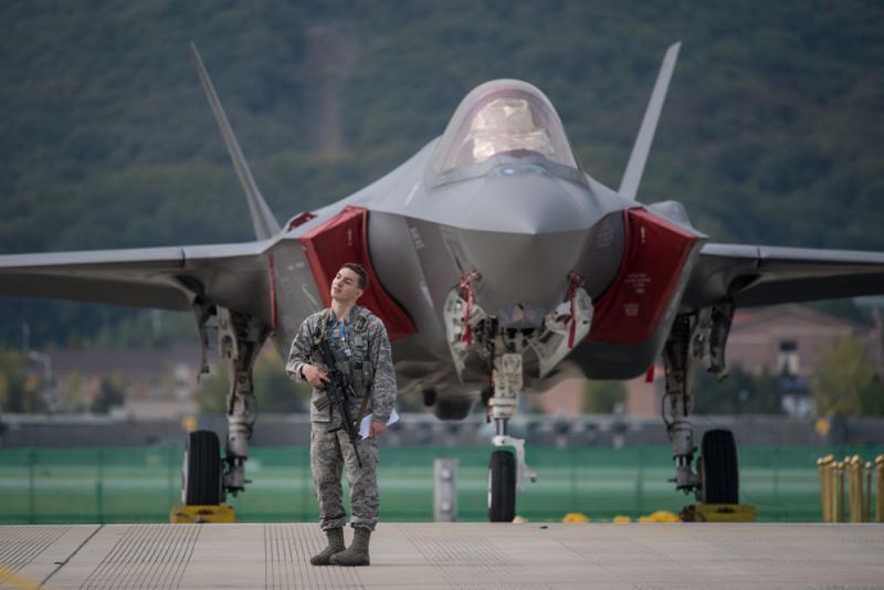 """?韩引进F-35 朝呛要用""""特别武器""""击落"""