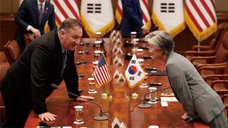 """?日韩贸易战 美国保持""""战略性沉默"""""""