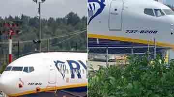 什么操作?波音737MAX被强行改名:机头刷成