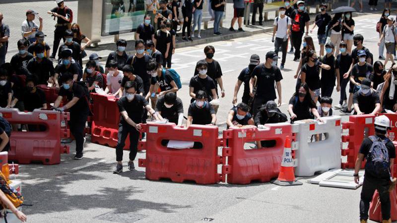 """集會未獲批""""不反對通知書"""" 民陣擬非法游行搞對抗"""