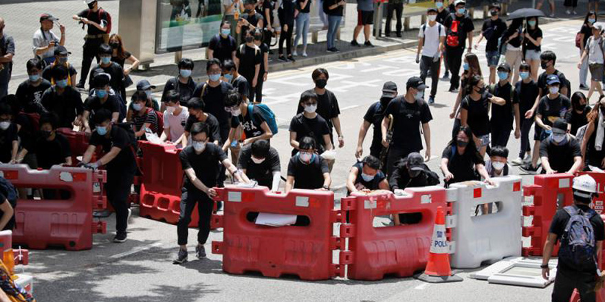 """集会未获批""""不反对通知书"""" 民阵拟非法游行搞对抗"""