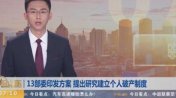 中国将研究建立个人破产制度 自然人因担保等负债可免责