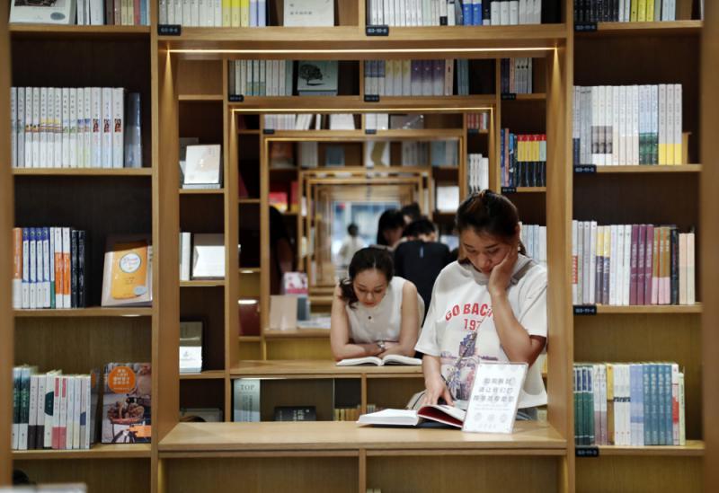 """""""高颜值""""书店带动全民阅读"""