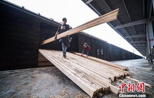今年二季度中国铁路货物发送量实现大幅增长
