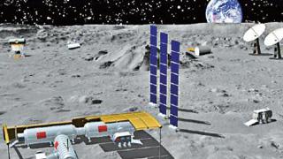 ?中国筑月球基地 机器人作先锋