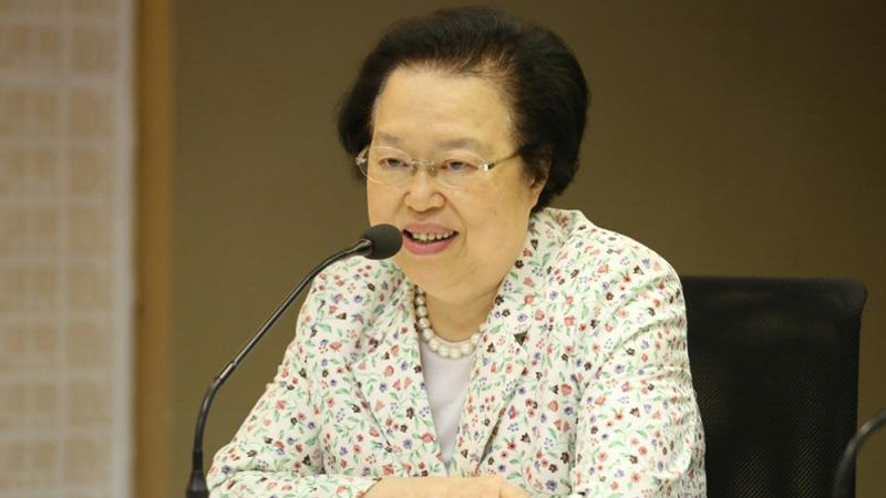 譚惠珠:中央不會插手處理香港事態