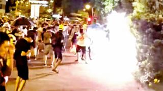 暴徒失常性 黑色恐怖蔓延全港