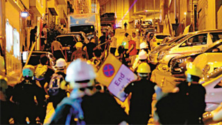 福建社团吁北角乡亲冷静克制反暴力