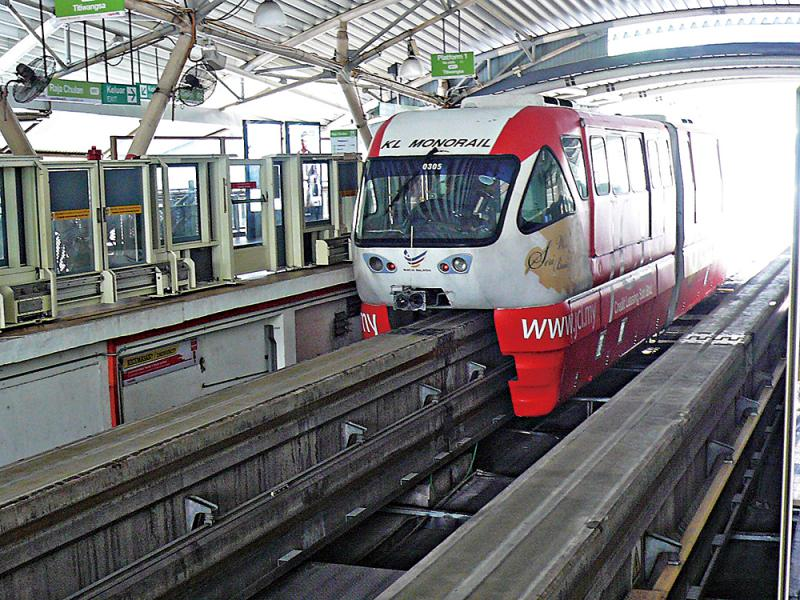 ?吉隆坡\搭乘鐵路 城市漫遊