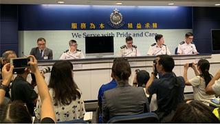 香港警方:暴徒行为变本加厉 8月9日至12日总计拘捕149人