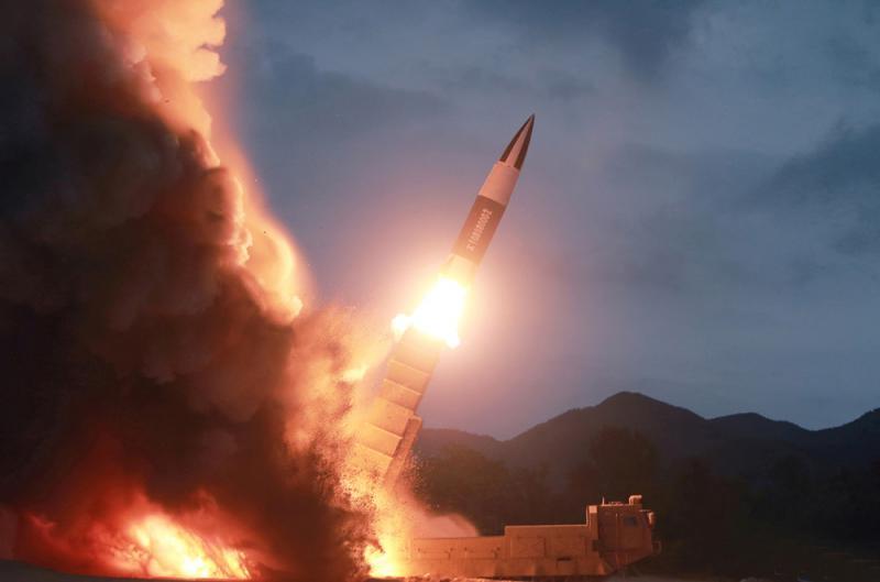 ?韩媒:朝新型导弹可夷平四足球场