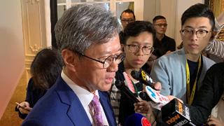 趙國雄:地建商會一向反對任何暴力