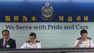 香港警方:机场极端暴力示威者暂不构成恐怖主义行为