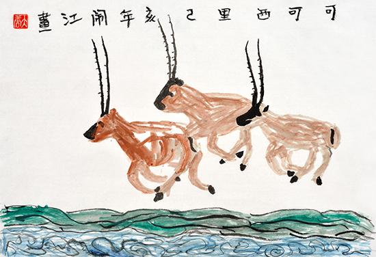 """最大规模藏区儿童画展""""玉见本源""""将在京开幕"""