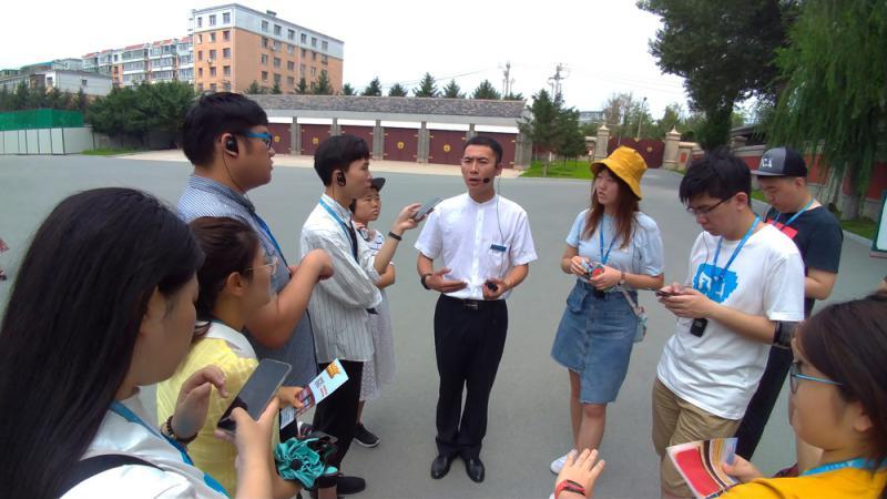 探访伪满皇宫 铭记历史伤痕\大公报实习记者冯智然长春报道