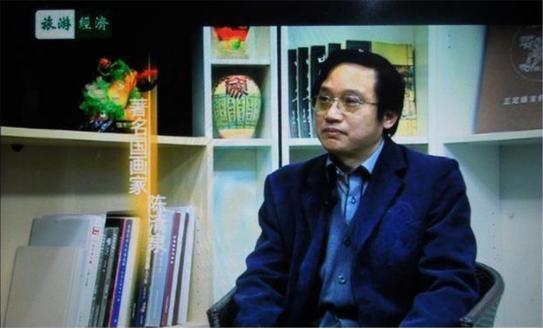 名家風采:陳清泉多幅作品登上國家最高殿堂