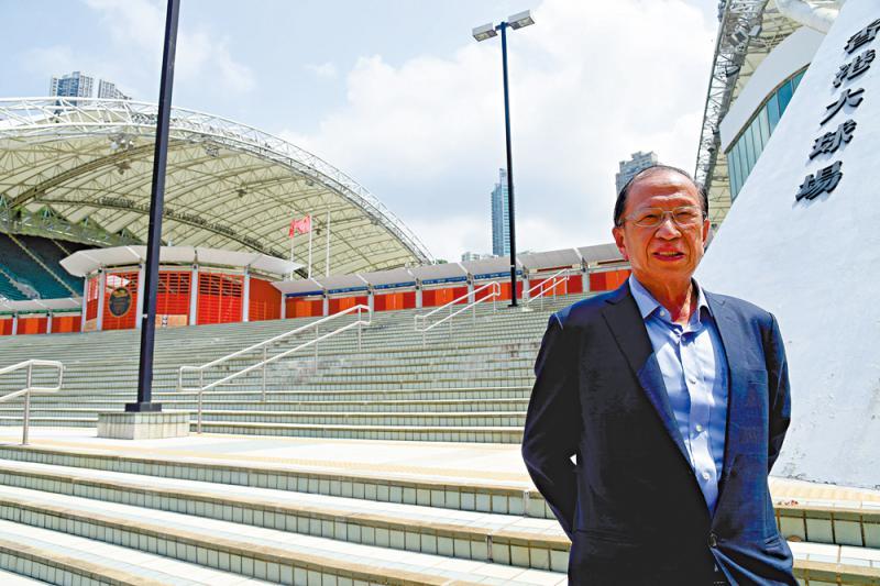 香港体坛高层独家专访系列\贝钧奇:珍惜港足运发展机遇