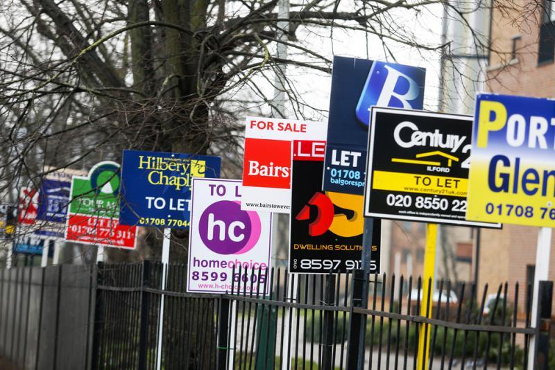 供应短缺 伦敦住宅放售价升1.2%