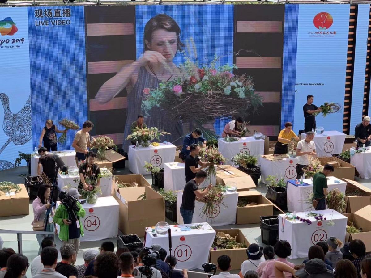 群星絢麗綻放2019世界花藝大賽 17位花藝師晉級決賽