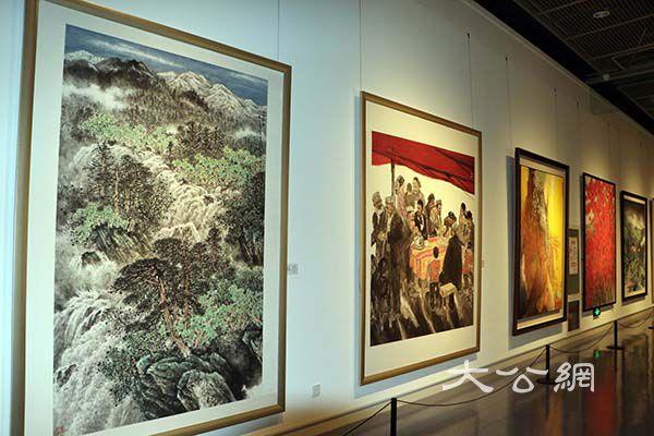 河南省美術書法攝影作品展絢麗出彩中原