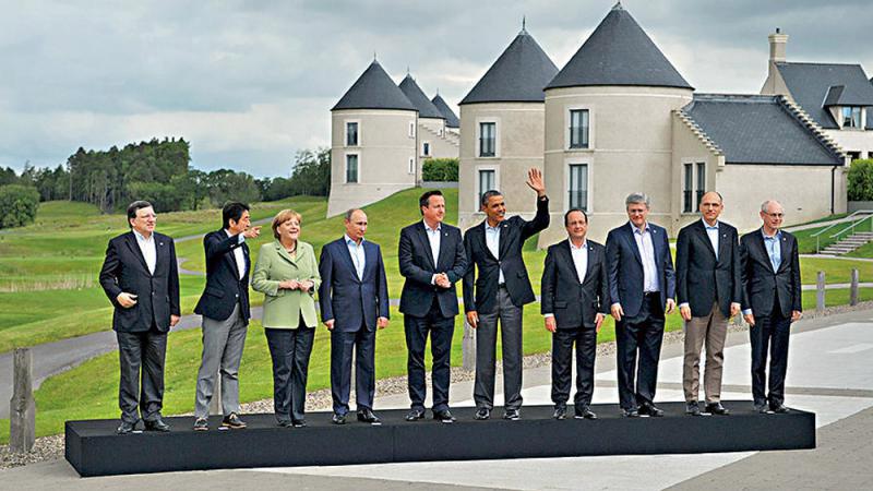 ?特朗普邀俄回歸G8 馬克龍支持