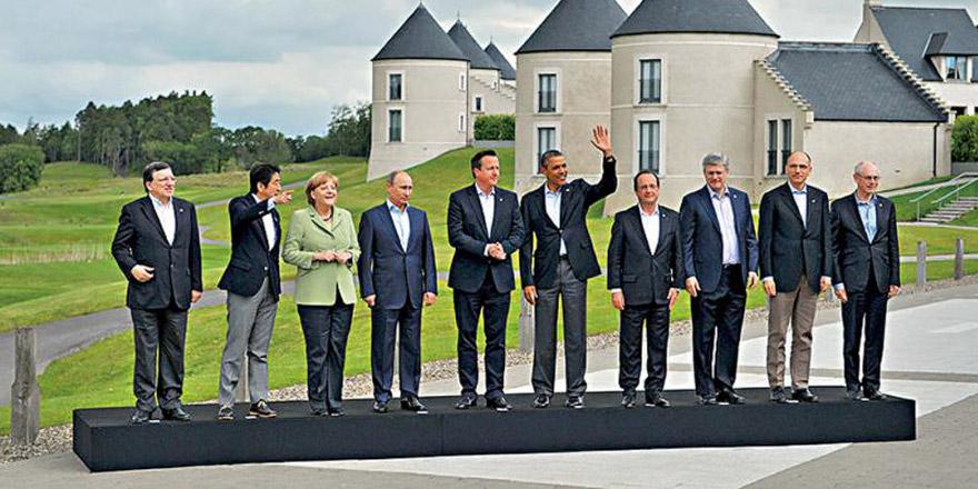 特朗普邀俄回归G8 马克龙支持