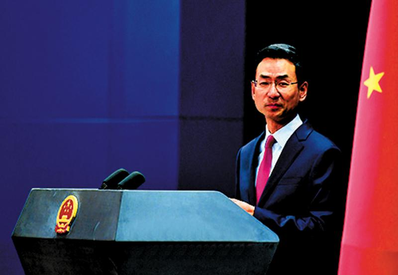 止暴制亂外交部促加停止干預港事務