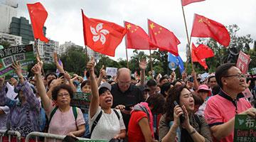 专家批美干涉香港事务 ?解放军按照基本法驻军法行动