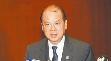 政务司司长张建宗反对罢课 吁勿让政治入侵校园