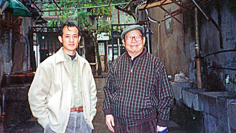 这些老前辈\丁聪:重返故乡枫泾\李 辉