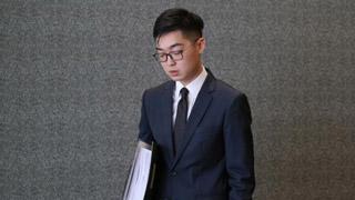 陈浩天再涉案 机场出境被O记拘捕