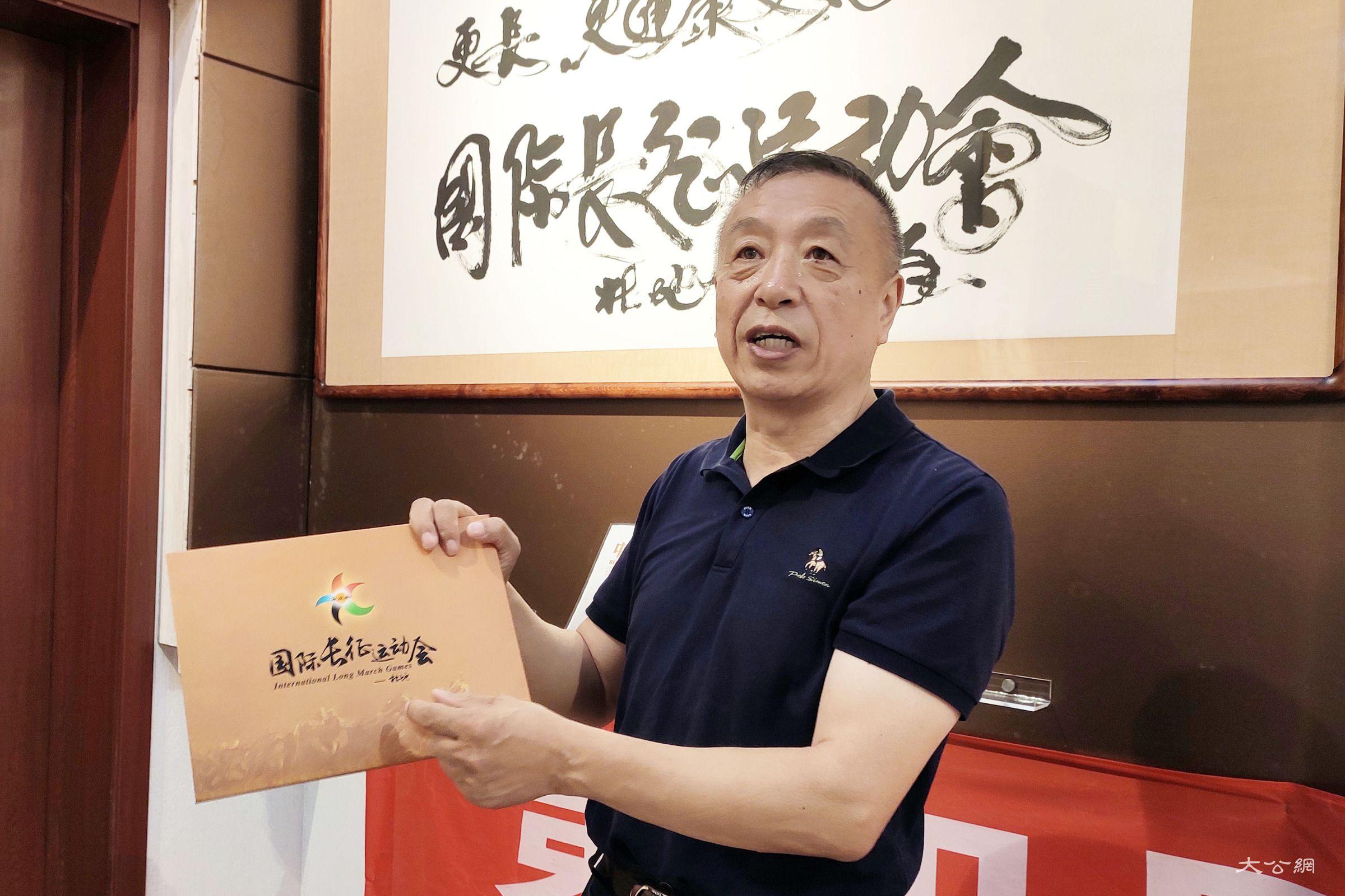 """专访""""中国好人""""杜地:庆新中国70华诞 长征运动会弘扬爱国精神"""