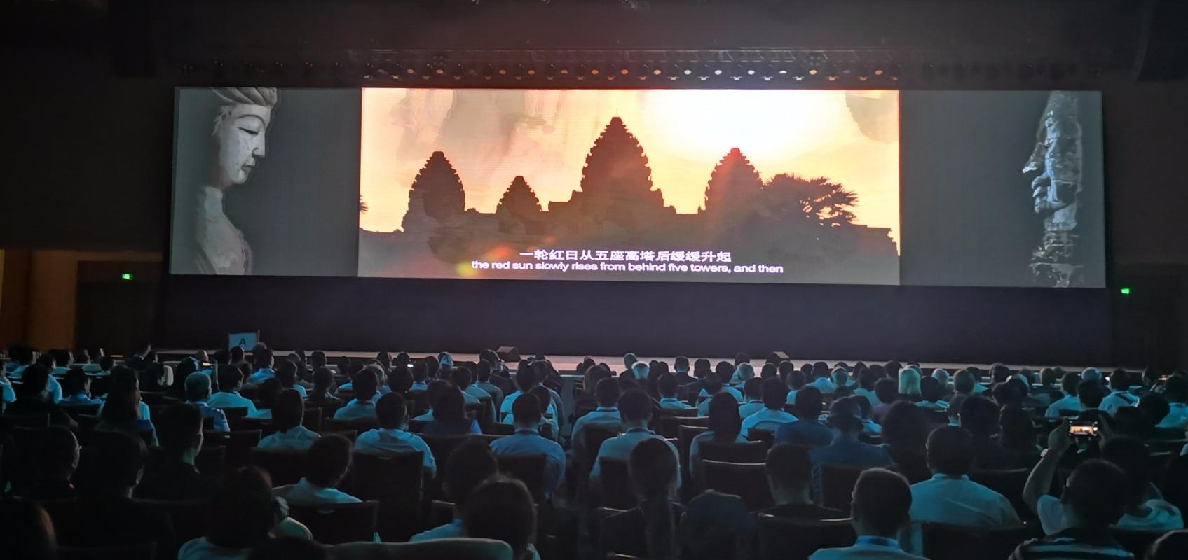 两大石窟艺术跨时空文明对话 纪录片《莫高窟与吴哥窟的对话》首映