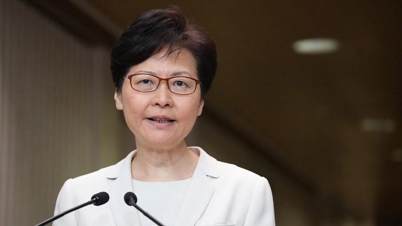 林郑月娥:包括撤回修例在内的4个行动是对话基础