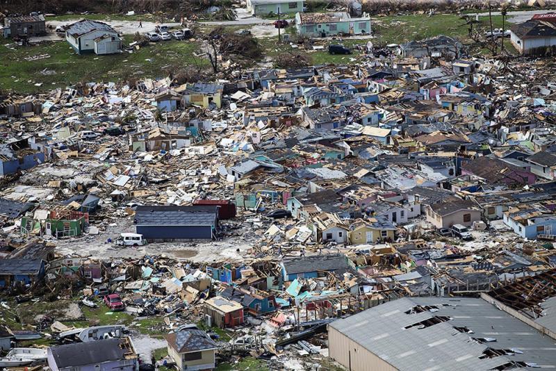 """?""""多里安""""抵美东海岸 巴哈马升至20人死亡"""