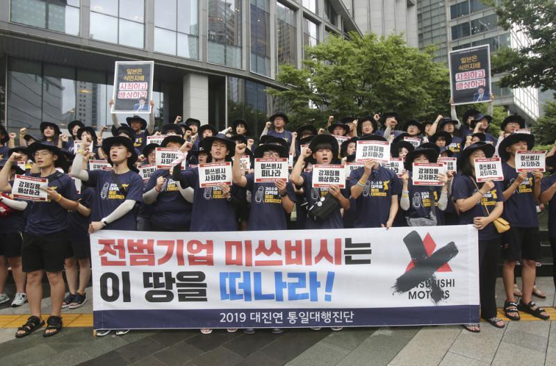"""?韩通过条例 抵制284家日""""战犯企业"""""""