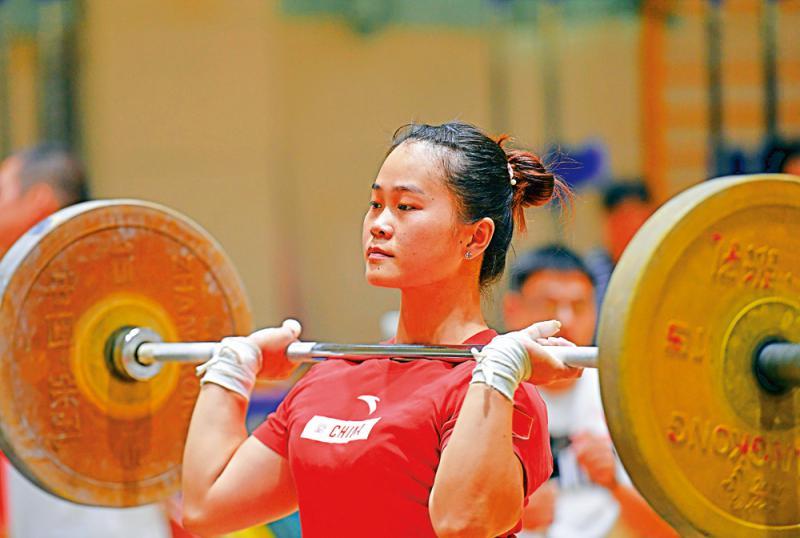 中国举重队世锦赛名单公布