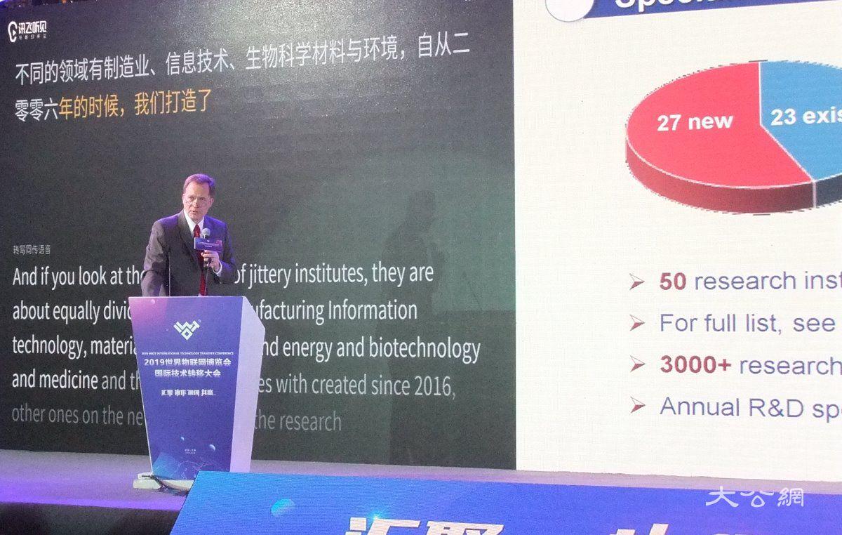 23项国际物联网前沿项目在江苏转化
