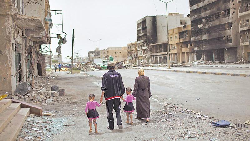 颜色革命之祸|?内战八年和平无望 利比亚坠失序深渊