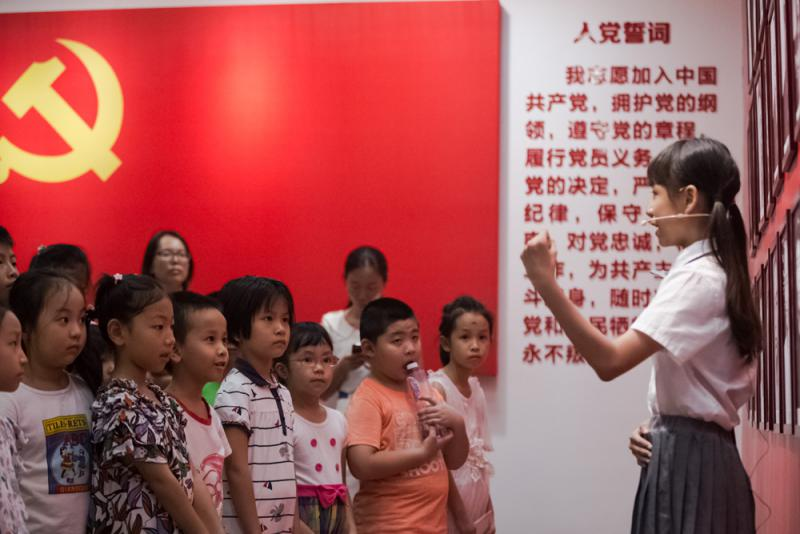 ?国庆红色旅遊升温 青少年成主力