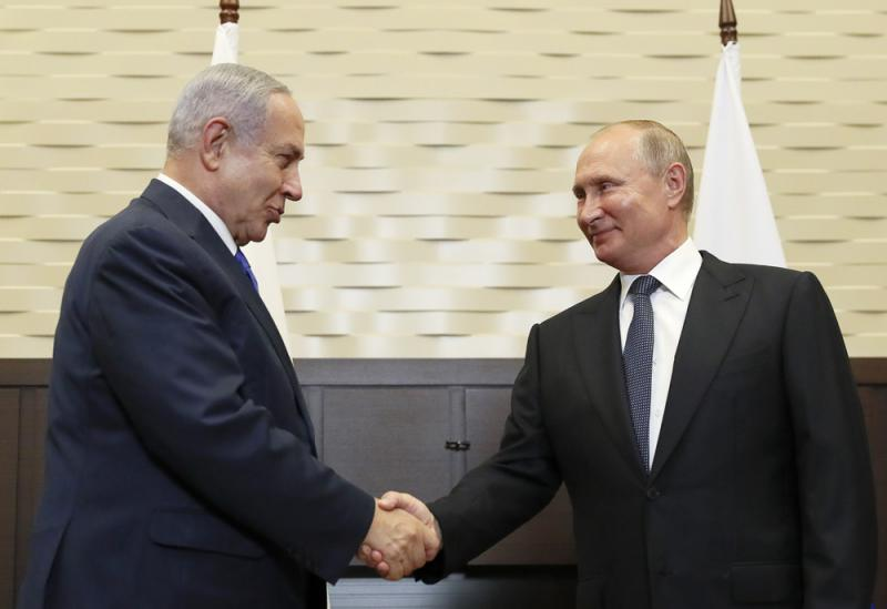 ?以总理晤普京 争取俄移民支持连任