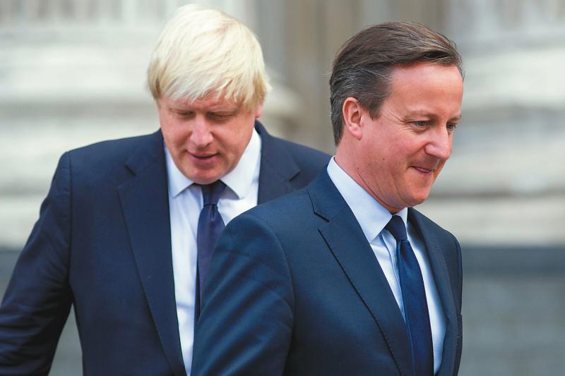 ?卡梅伦:英或需二次脱欧公投