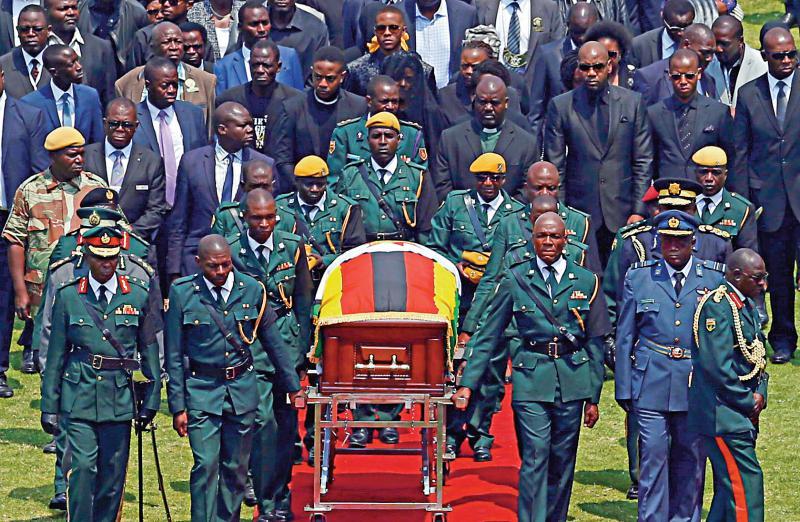 ?陵墓未竣工 穆加贝遗体或推迟30日下葬